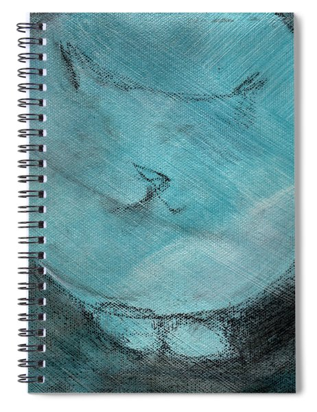 One Blue You Spiral Notebook