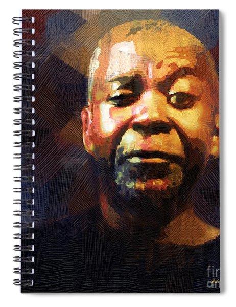 One Eye In The Mirror Spiral Notebook