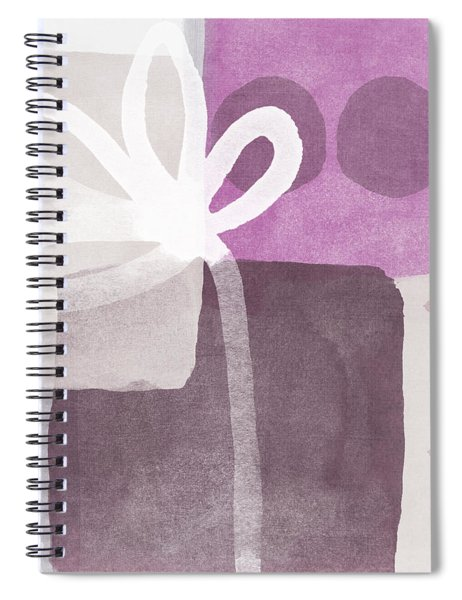 One Flower- Contemporary Painting Spiral Notebook