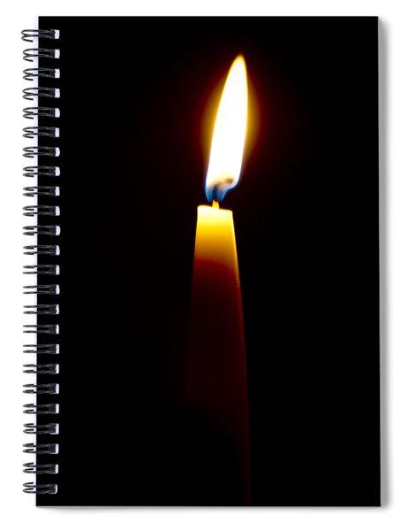 One Small Light Spiral Notebook