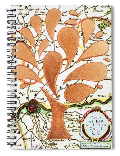 Only As Far As I Seek Can I Go Spiral Notebook