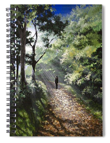 Onward Spiral Notebook