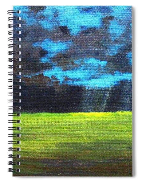 Open Field IIi Spiral Notebook