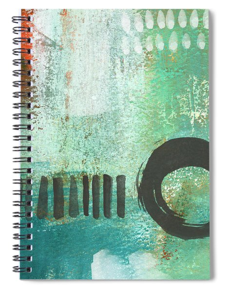 Open Gate- Contemporary Abstract Painting Spiral Notebook