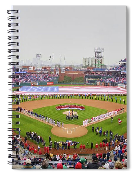 Opening Day Ceremonies Featuring Spiral Notebook