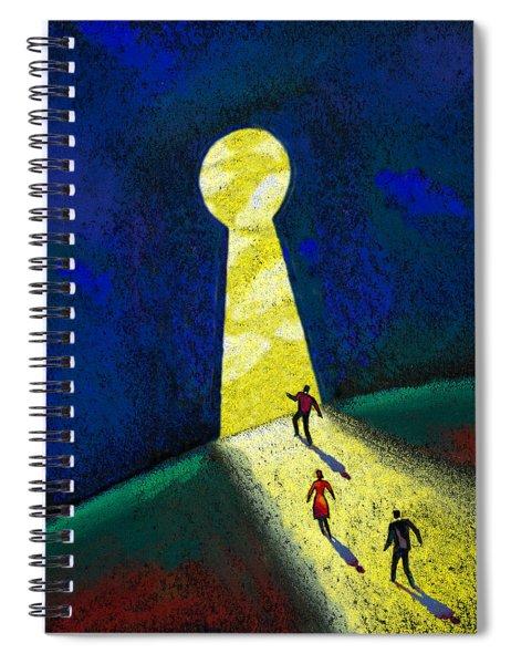 Optimism Spiral Notebook