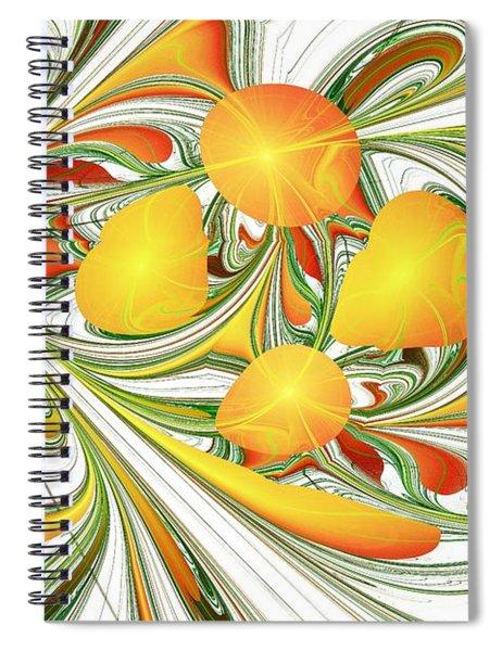 Orange Attitude Spiral Notebook