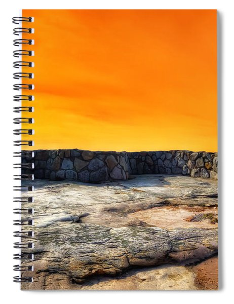 Orange Blaze Spiral Notebook