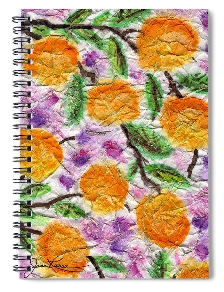 Orange Blossoms Spiral Notebook