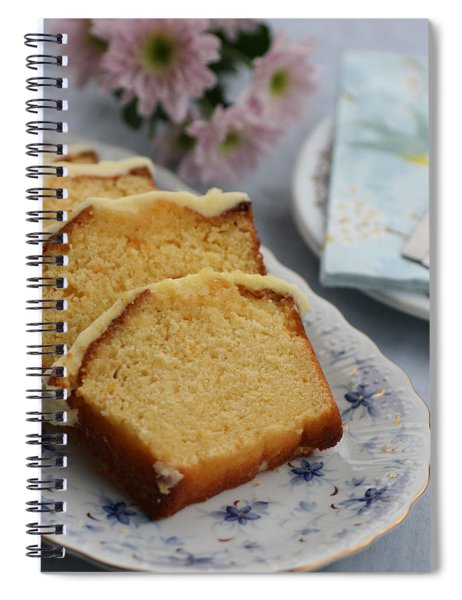 Orange Cake Spiral Notebook