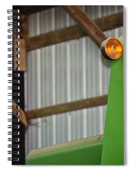 Orange Light Spiral Notebook