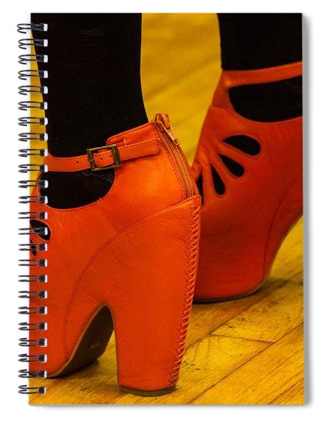 Orange Pair Spiral Notebook
