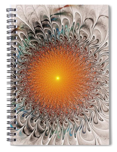 Orange Zone Spiral Notebook