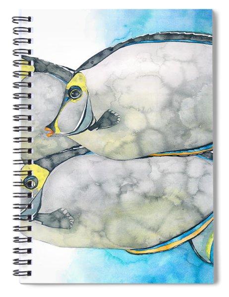 Orangespine Unicornfish Spiral Notebook