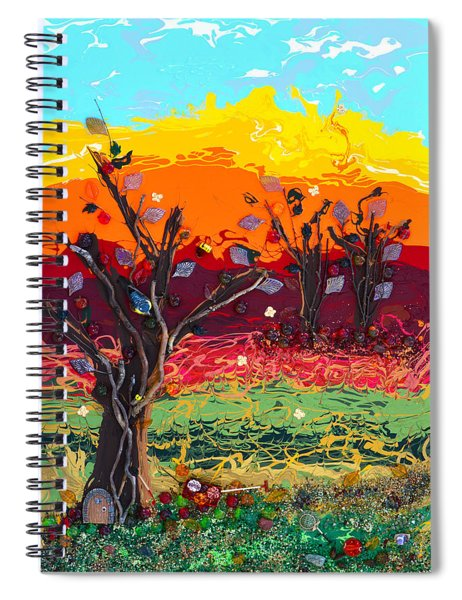 Orchard Harvest Spiral Notebook