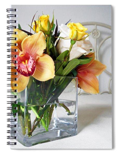 Orchid Bouquet Spiral Notebook