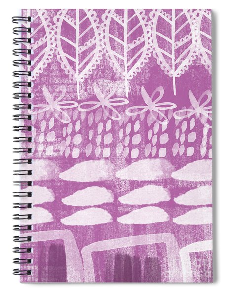 Orchid Fields Spiral Notebook