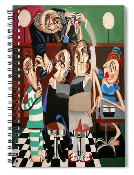 Order In The Court Side Bar Spiral Notebook