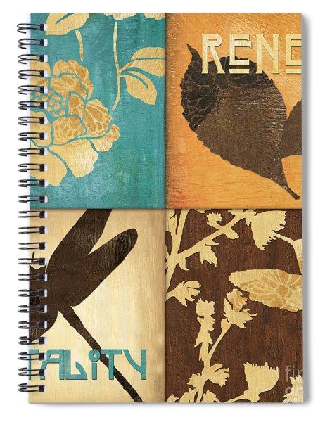 Organic Nature 4 Spiral Notebook