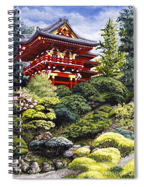 Oriental Treasure Spiral Notebook