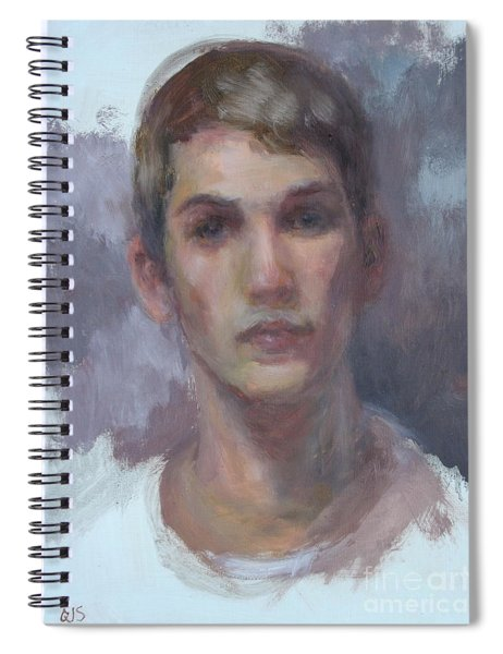 Original Portrait Called Boyfriend - Commission Your Own Painting Spiral Notebook