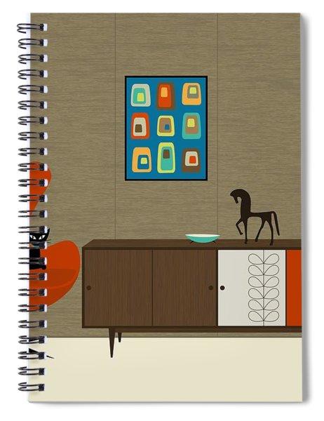 Orla Kiely Cabinet Spiral Notebook