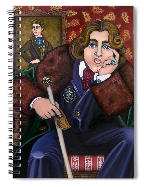 Oscar Wilde And The Picture Of Dorian Gray Spiral Notebook
