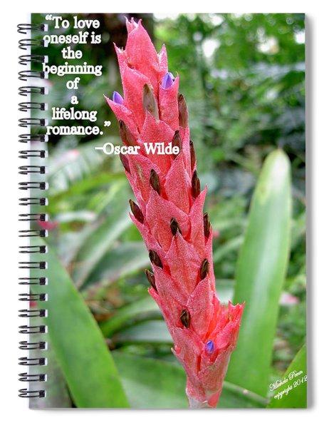 Oscar Wilde Spiral Notebook