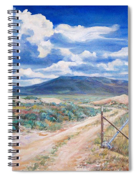 Osceola Nevada Ghost Town Spiral Notebook