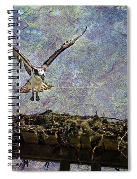Osprey-coming Home Spiral Notebook