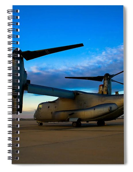 Osprey Sunrise Series 1 Of 4 Spiral Notebook