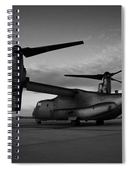 Osprey Sunrise Series 2 Of 4 Spiral Notebook