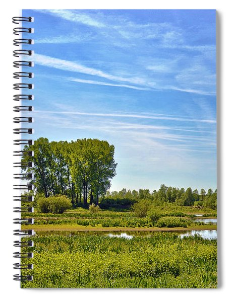 Ossenwaard Near Deventer Spiral Notebook