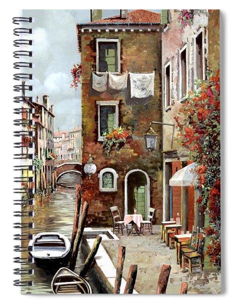 Osteria Sul Canale Spiral Notebook