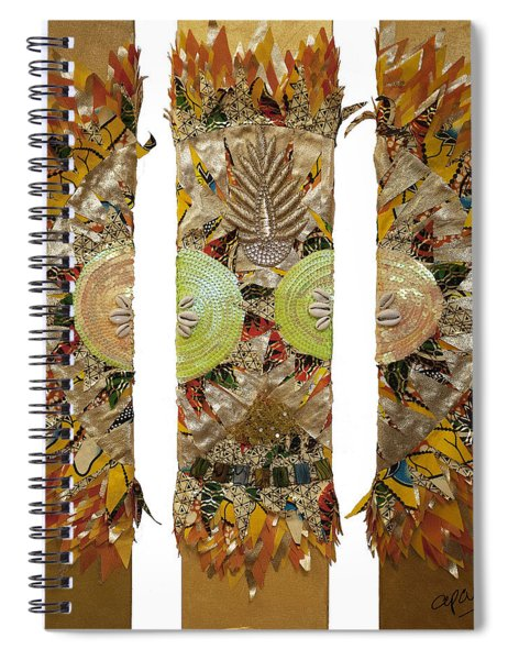 Osun Sun Spiral Notebook