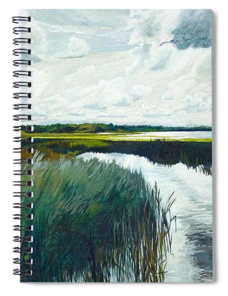 Otter Tail River From Bridge Spiral Notebook
