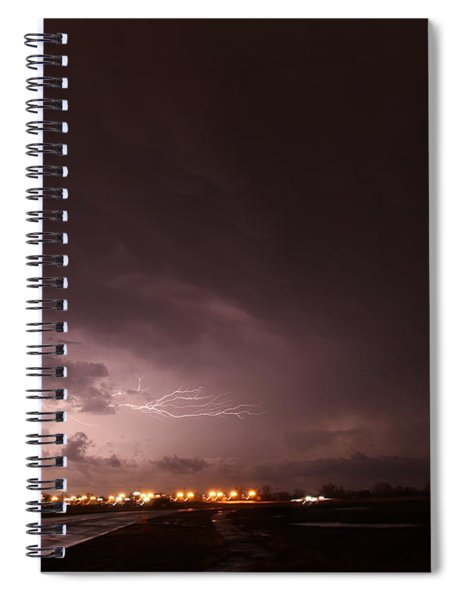 Our 1st Severe Thunderstorms In South Central Nebraska Spiral Notebook