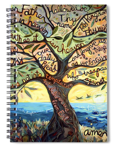 Our Father Spiral Notebook