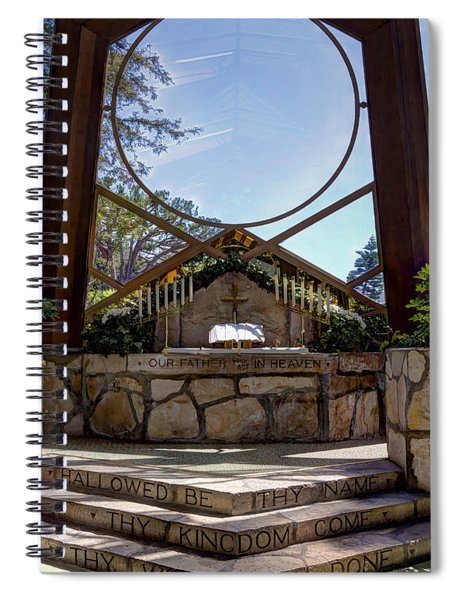 Our Father Who Art In Heaven Spiral Notebook