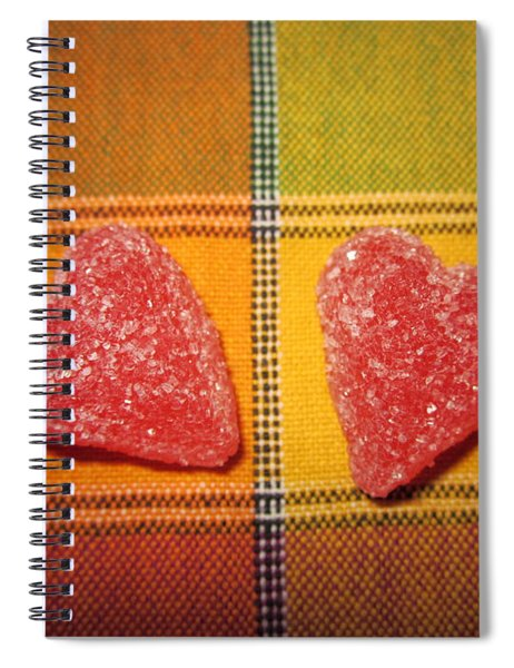 Our Hearts On The Table Spiral Notebook