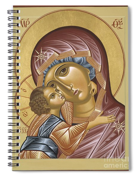 Our Lady Of Grace Vladimir 002 Spiral Notebook