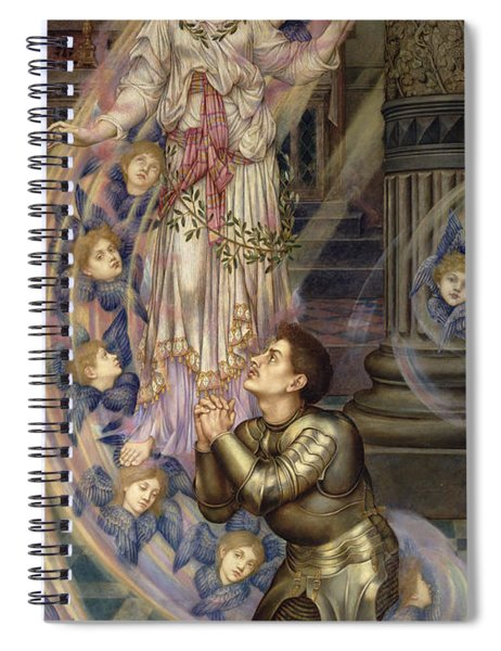 Our Lady Of Peace Spiral Notebook