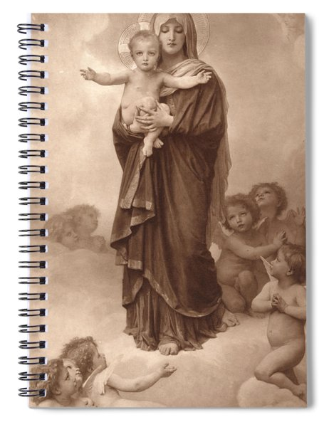 Our Lady Of The Angels Spiral Notebook