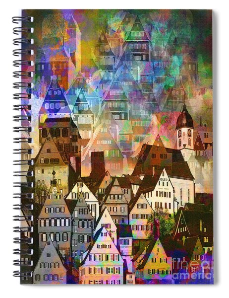Our Old Town Spiral Notebook