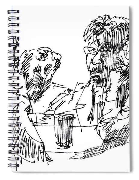 Out For A Coffee 3 Spiral Notebook