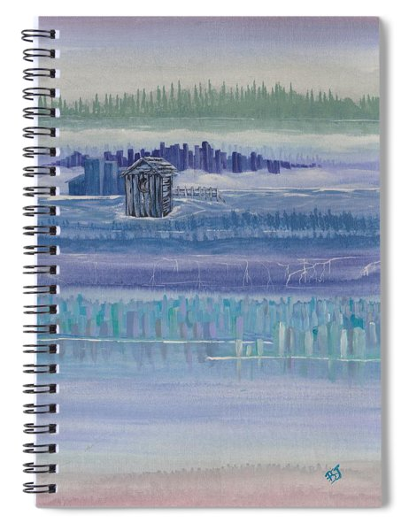 Out House In Nowhere Spiral Notebook