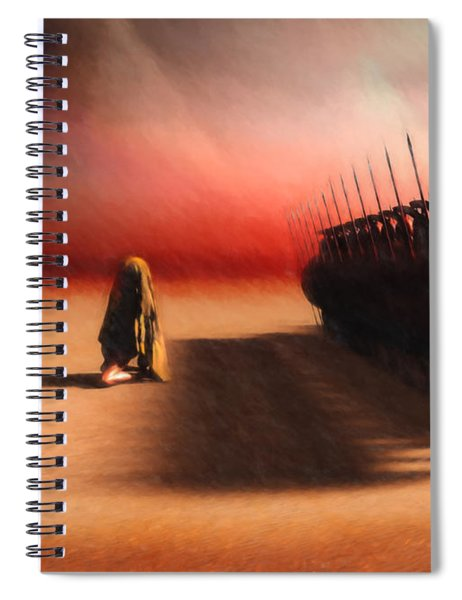 Out Of Egypt Spiral Notebook