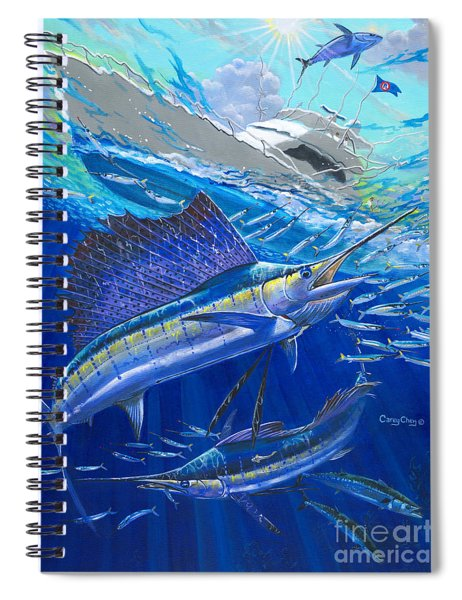 Out Of Sight Spiral Notebook
