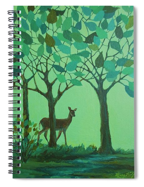 Out Of The Forest Spiral Notebook