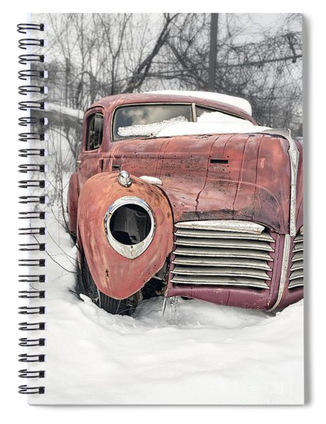 Out Of The Past Spiral Notebook